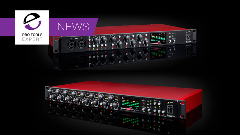 Focusrite Two New Scarlett OctoPres To The Range