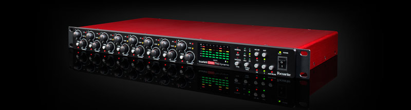 focusrite scarlett octopre dynamic new