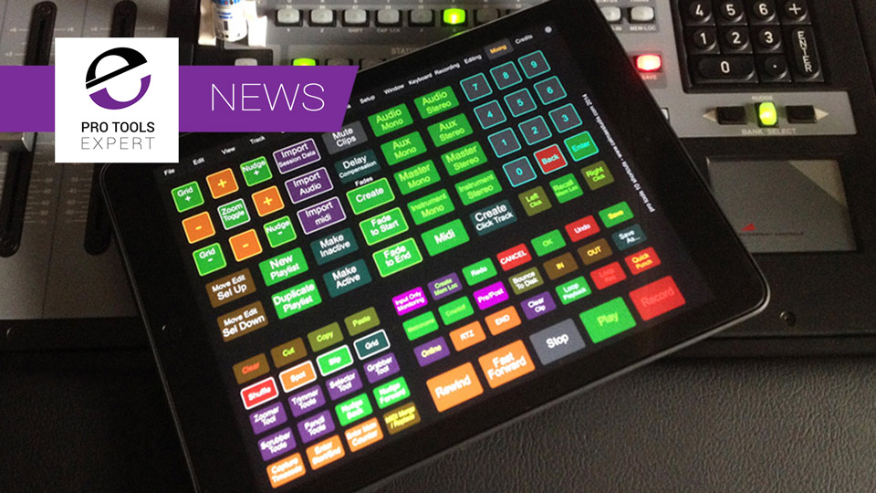 Pro Tools 12 TouchOSC Template For iPad Released