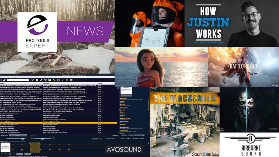 Sunday Sound Effects Round Up - Airborne Sound, SoundBits, Pro Sound Effects, Soundminer, A Sound Effect