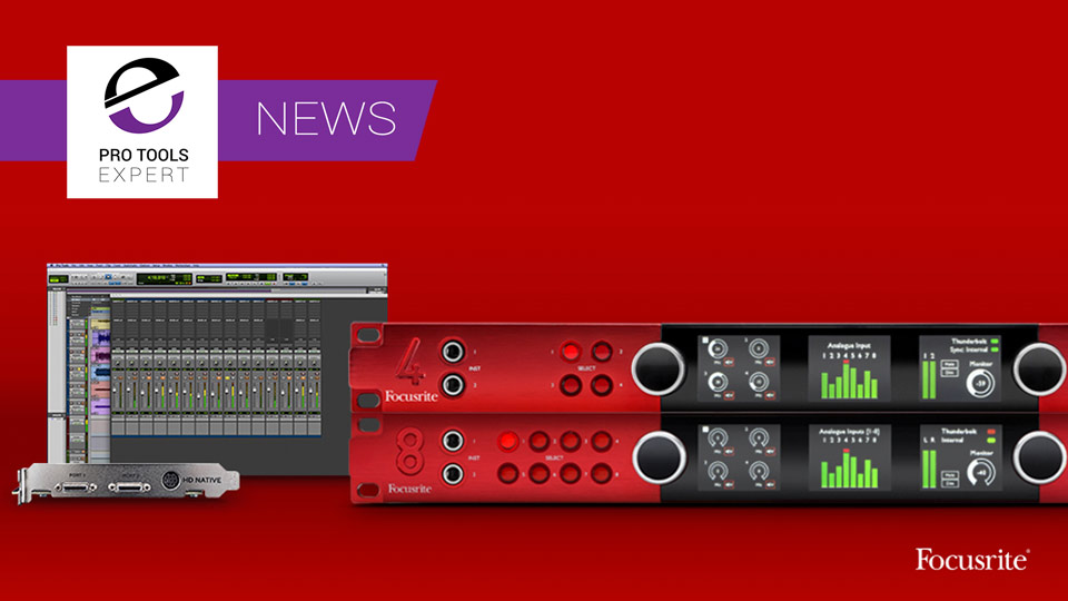 Focusrite Bundle Red Range With Pro Tools 12HD DigiLink I/O Licence