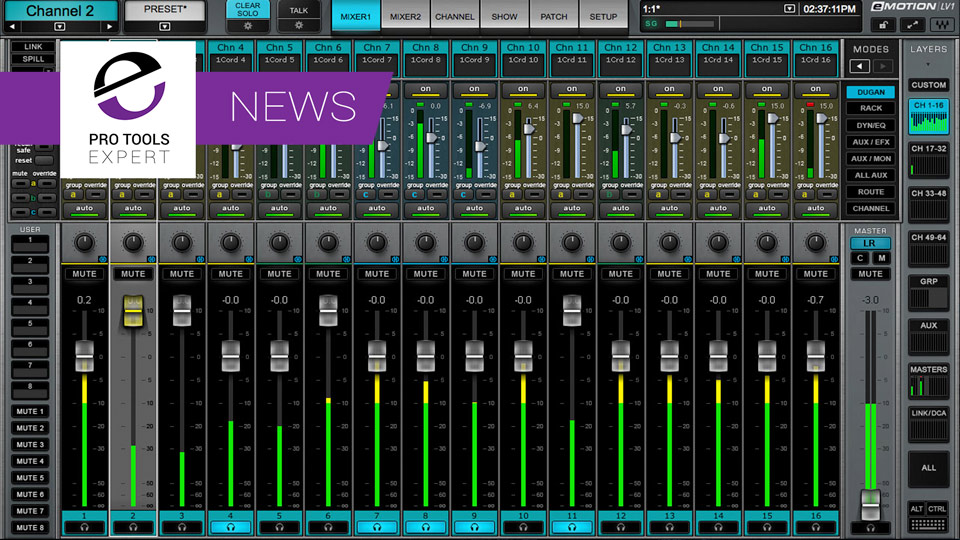 Waves Announce Dugan Speech Automixer Plugin At NAMM 2017