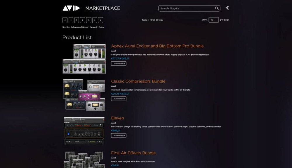 Avid Marketplace