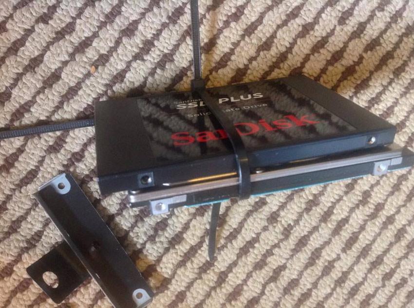 DIY SSD Drive Tray