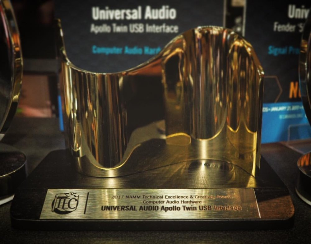 Universal Audio Win For Apollo Twin