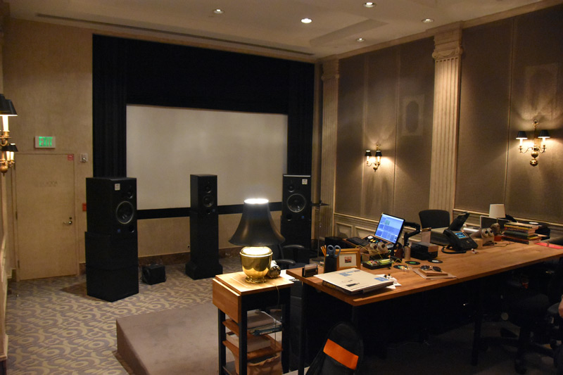 The main mastering room at The Bakery. If walls could talk...