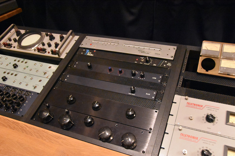 The Bakery custom built EQ and Compressors.