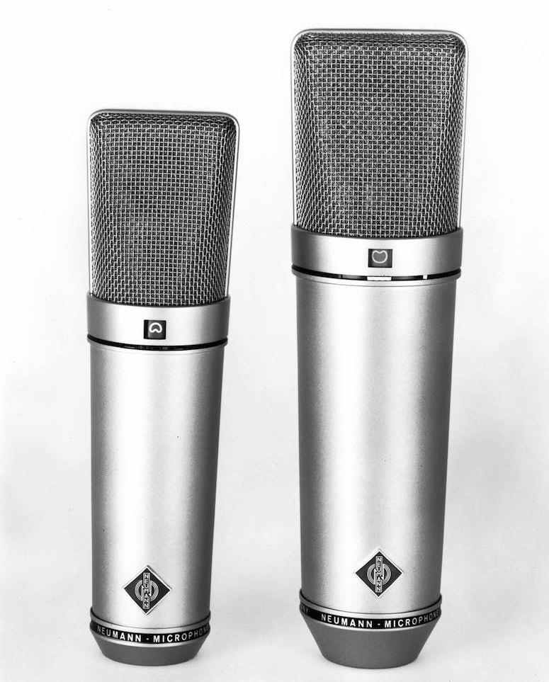 Neumann U87 and U89