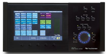 TAC System VMC-102 Advanced Studio Monitoring Controller