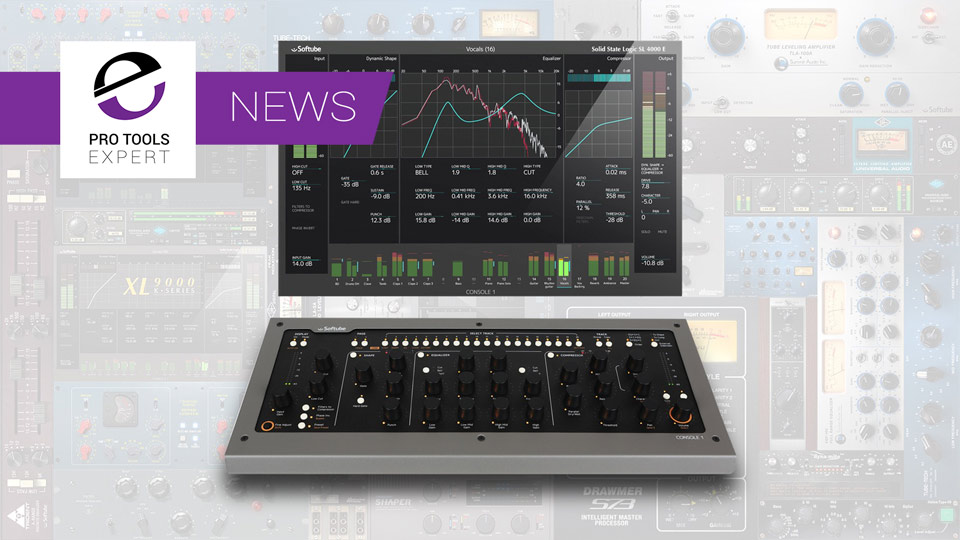 Softube Announces Console 1 Software Support For UAD Powered Plug-Ins