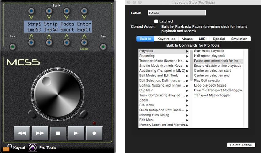JL Cooper MCS5 Software