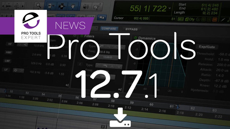 Avid Release Pro Tools 12.7.1 Update