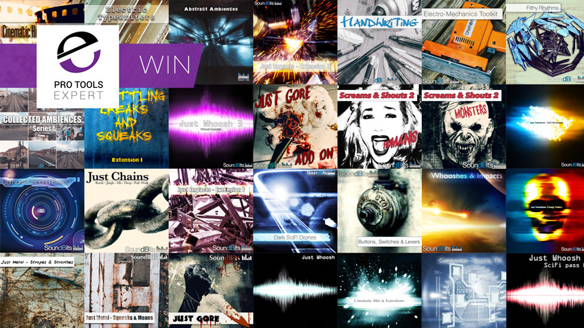 Win All the SoundBits Sound Effects Libraries