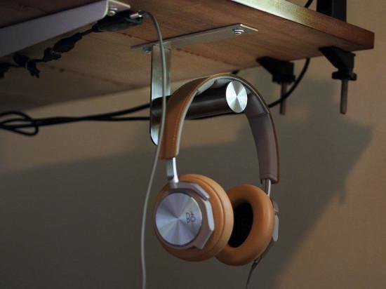 Ikea Grundtal headphone hanger