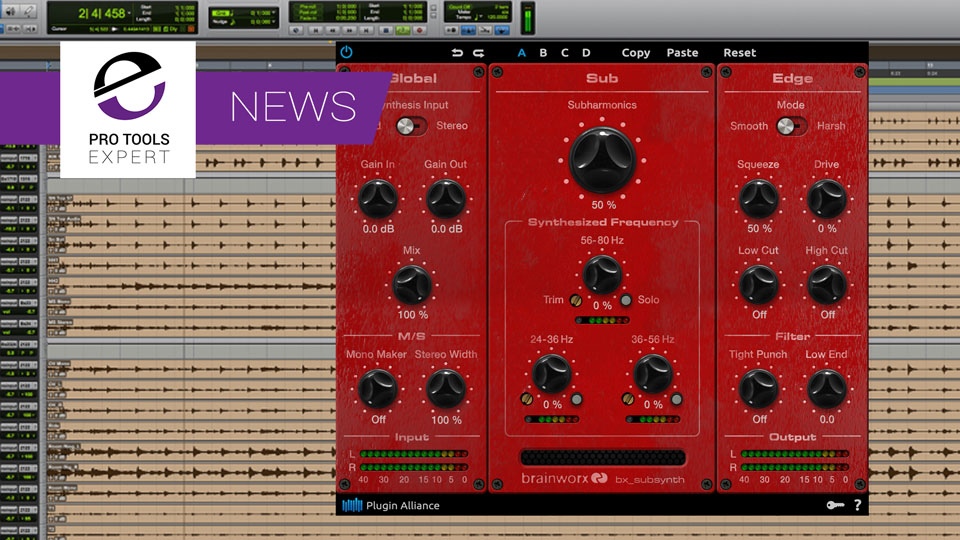 Plugin Alliance Release Brainworx bx_basssynth Plugin