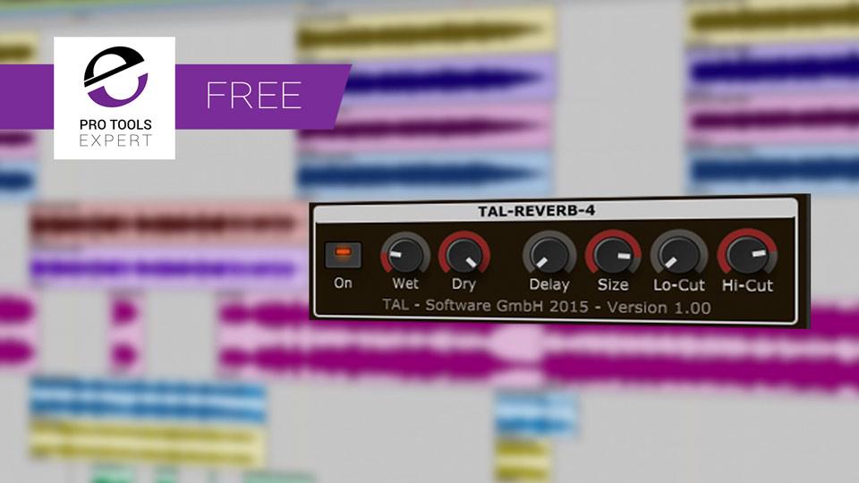 Free Pro Tools Plug-in - TAL-Reverb-4