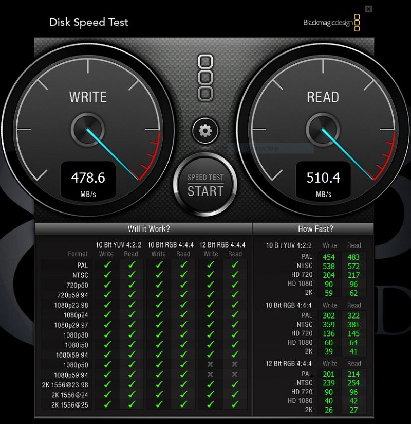 Windows Disk Speed Test