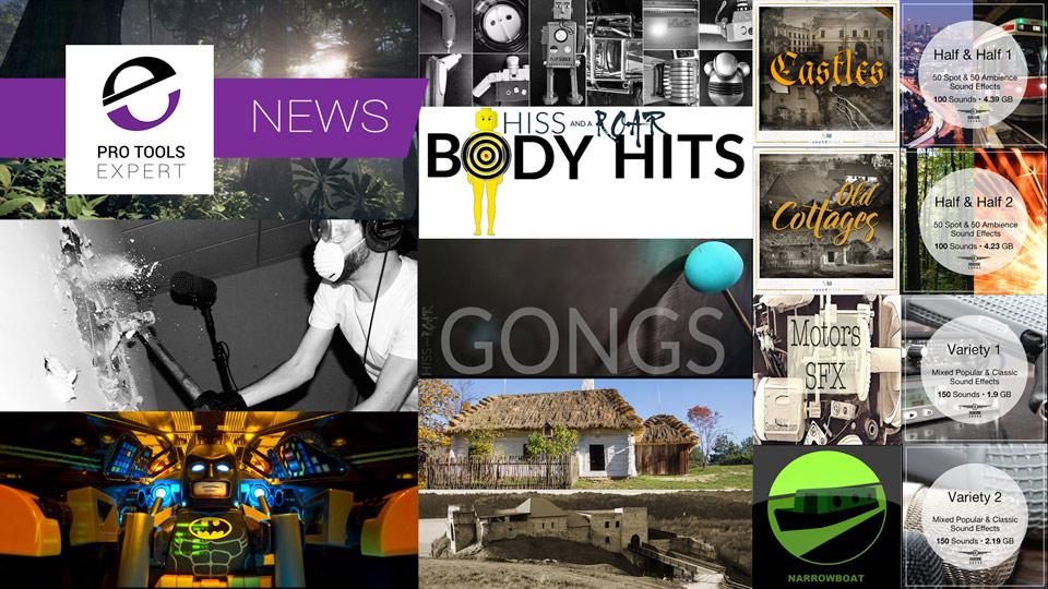 Sunday Sound Effects Round Up - Soundmind, Airborne Sounds, Sonic