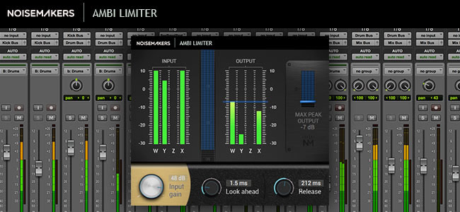 Noise Makers Ambi Limiter Plug-in