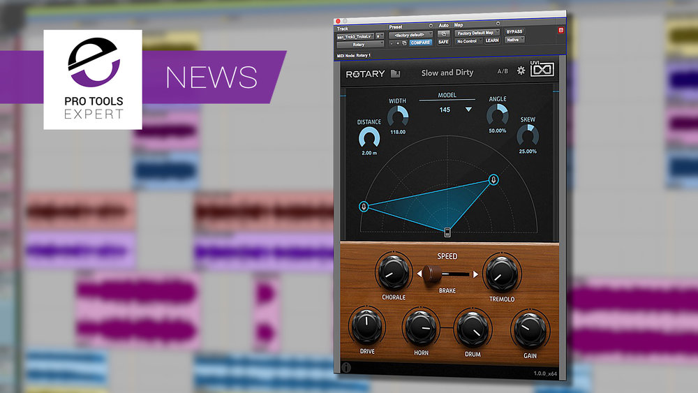 UVI release rotary effect plug-in pro tools