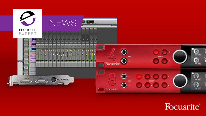 Focusrite to end free DigiLink license offer
