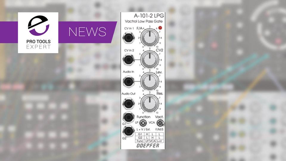 Softube Releases Doepfer A-101-2 Vactrol LPG Gate Module For Softube Modular