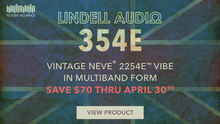 Plugin Alliance Release Lindell Audio 354E Multiband Mastering Plug-in