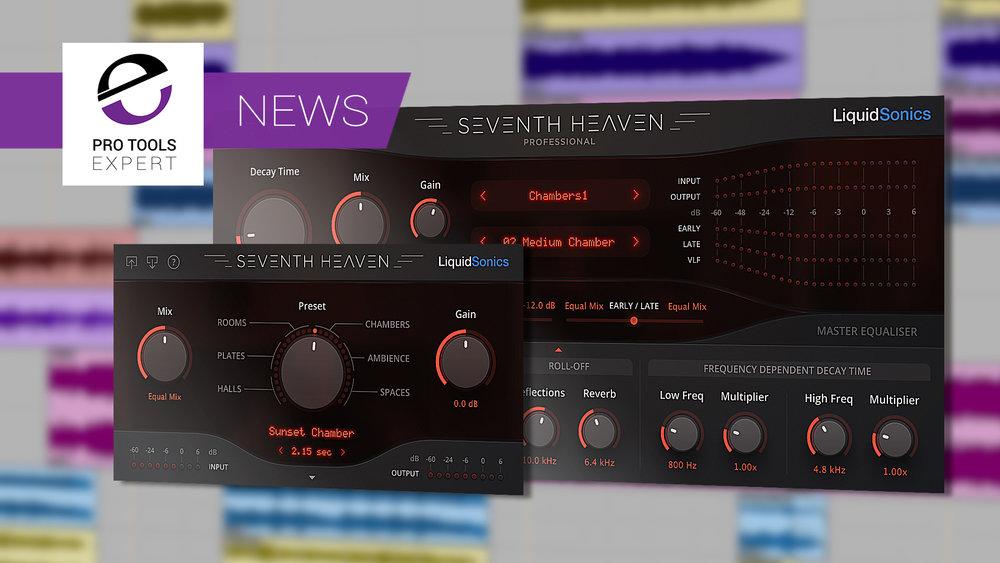 liquidsonics reverb plug-ins Seventh Heaven