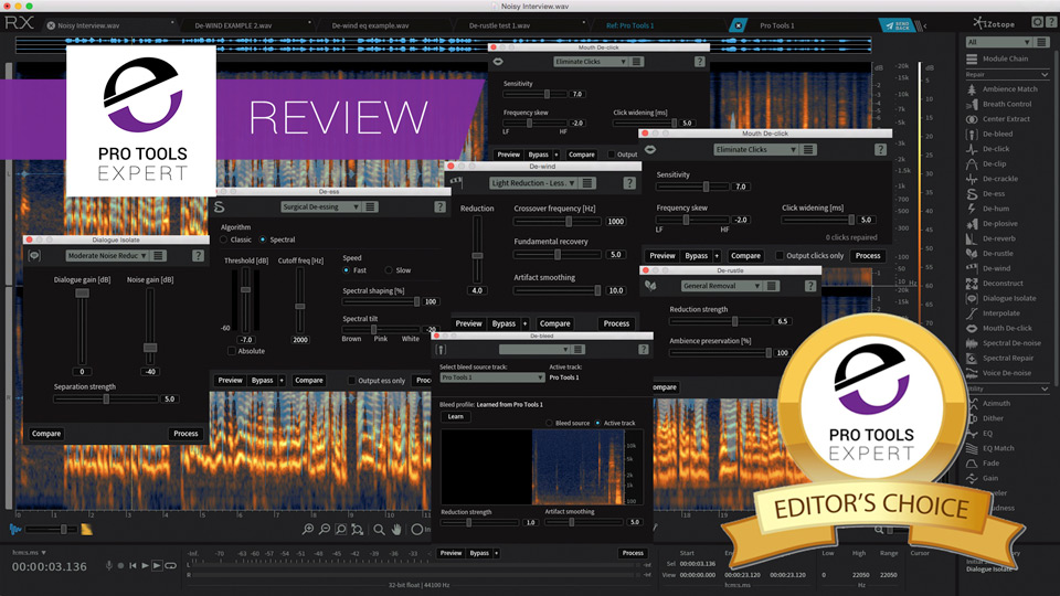 iZotope Release RX6 And RX6 Advanced - We Have An Exclusive