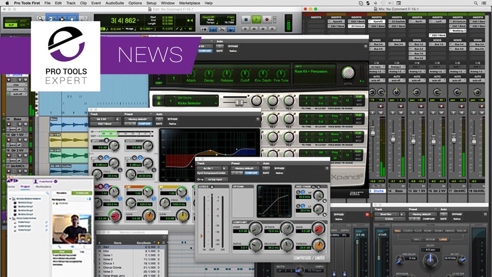 Avid Announce New Version Of Their Free Application Pro Tools First