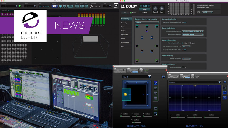Dolby Announce New Dolby Atmos Production Suite And