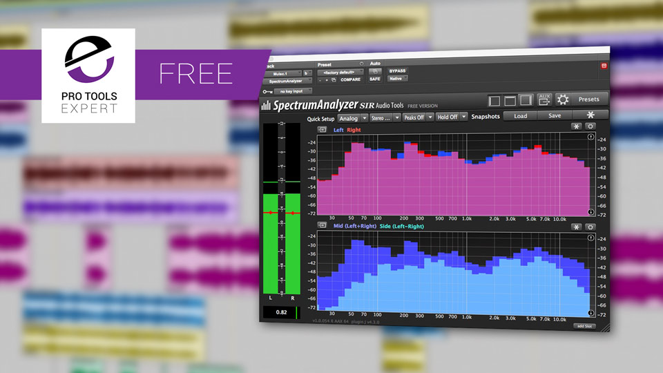Friday Free Plug-in - SpectrumAnalyzer From SIR Audio Tools
