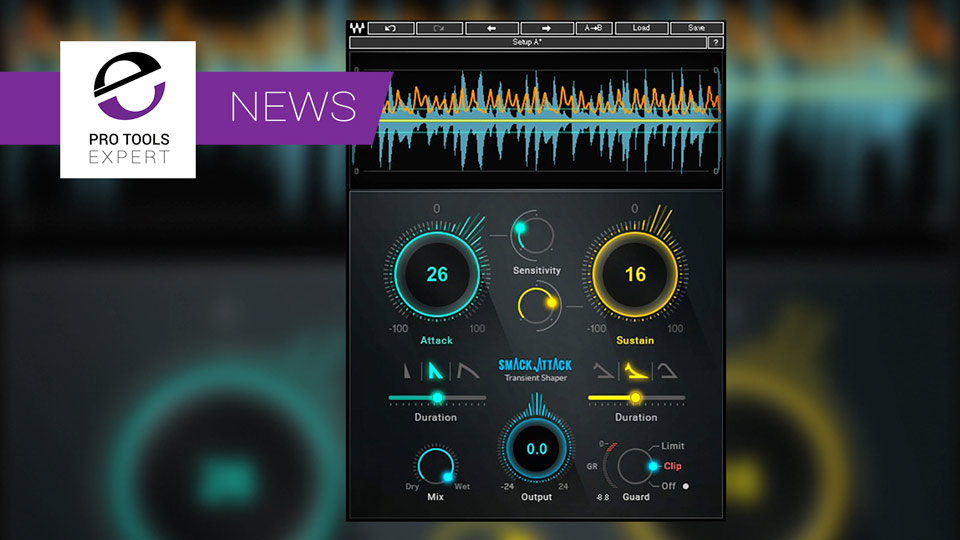 Waves Release Smack Attack Transient Shaper Plug-in