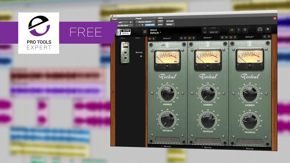 Friday Free Plug-in Slate Digital VMR Revival Sonic Enhancer