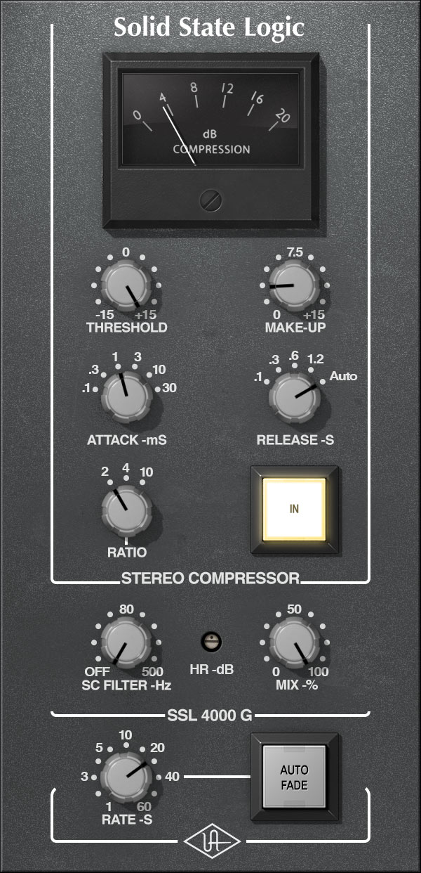 SSL 4000 G Bus Compressor Collection - $299