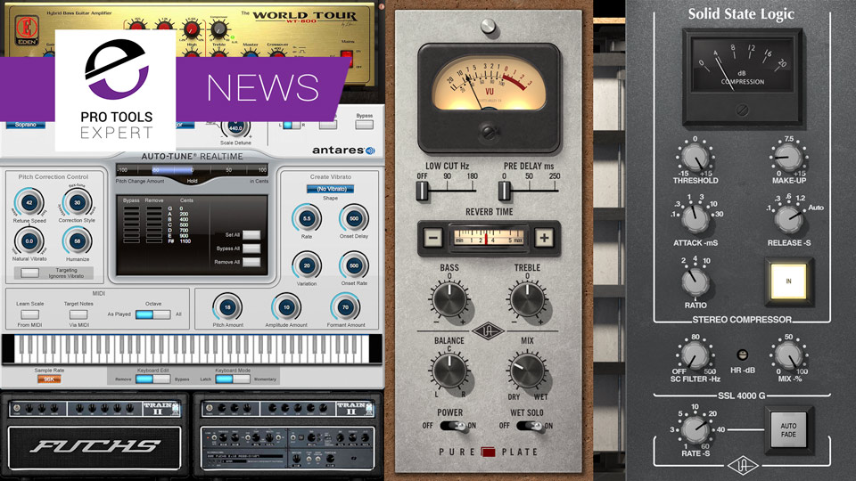 UAD v9.2 Release Includes Antares Auto-Tune Realtime And SSL 4000 G Bus Compressor