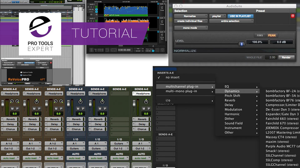 4 Ways You Can Use Effects In Pro Tools And When You Should Use Them
