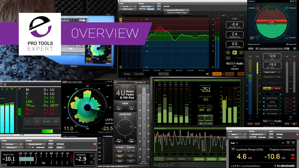 Overview - Loudness Metering Plug-ins And Resources