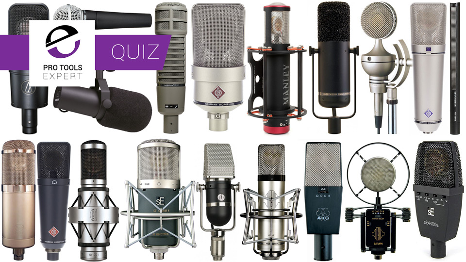 Quiz - How Well Do You Know Your Microphones?