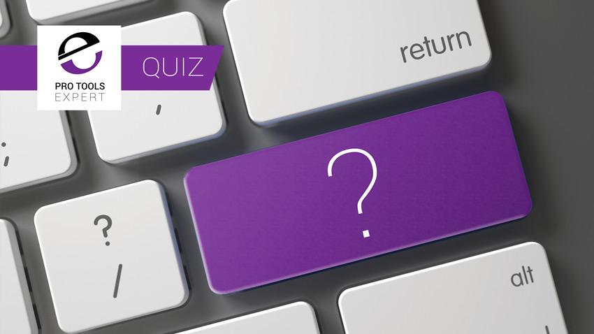 Pro Tools Shortcuts Quiz Banner
