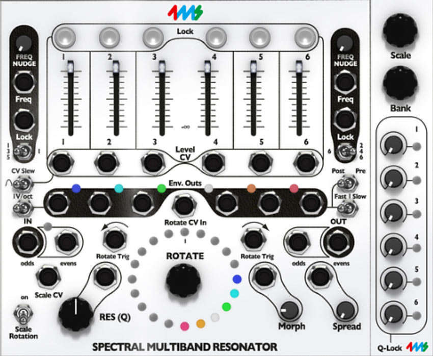 Softube Modular Add-on - 4ms SMR Spectral Multiband Resonator