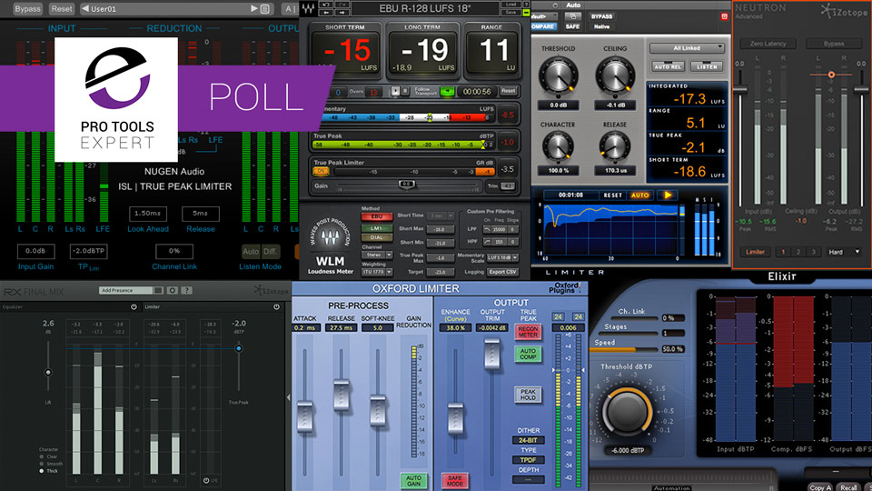 Poll - Which True Peak Limiter Do You Use? - Results | Pro Tools