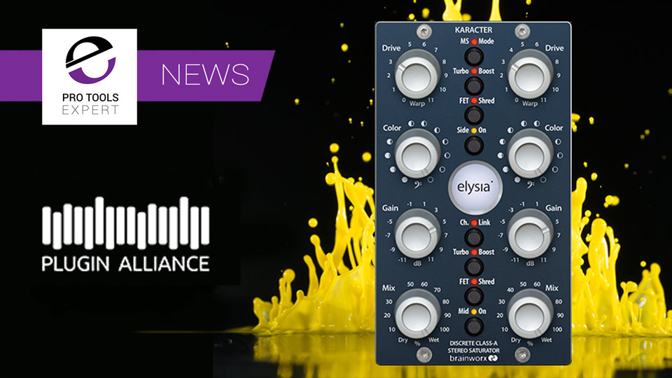 Plugin Alliance Release Elysia Karacter Saturator Plug-in