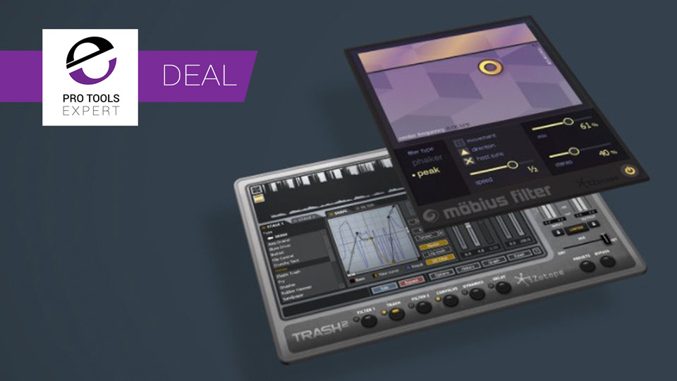 iZotope Trash 2 And Mobius Filter Bundle - $49 - Save 66% Until June 25th 2017