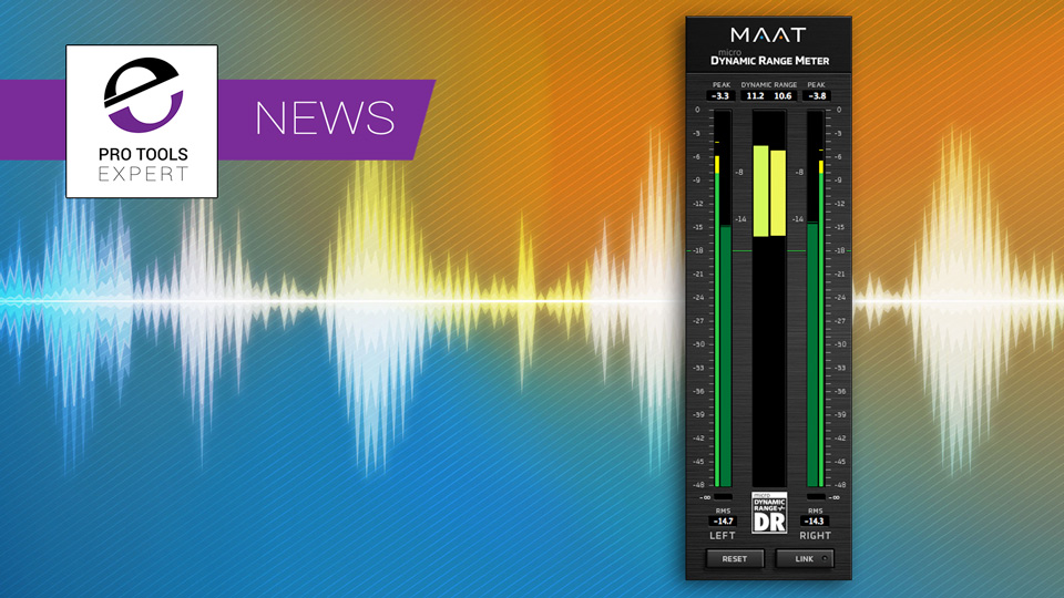 maat digital release remodeled version of the tt dynamic range meter pro tools expert