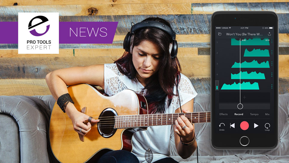 iZotope Update Their Spire iOS Recording App With Collaboration - Is This The Next Portastudio?