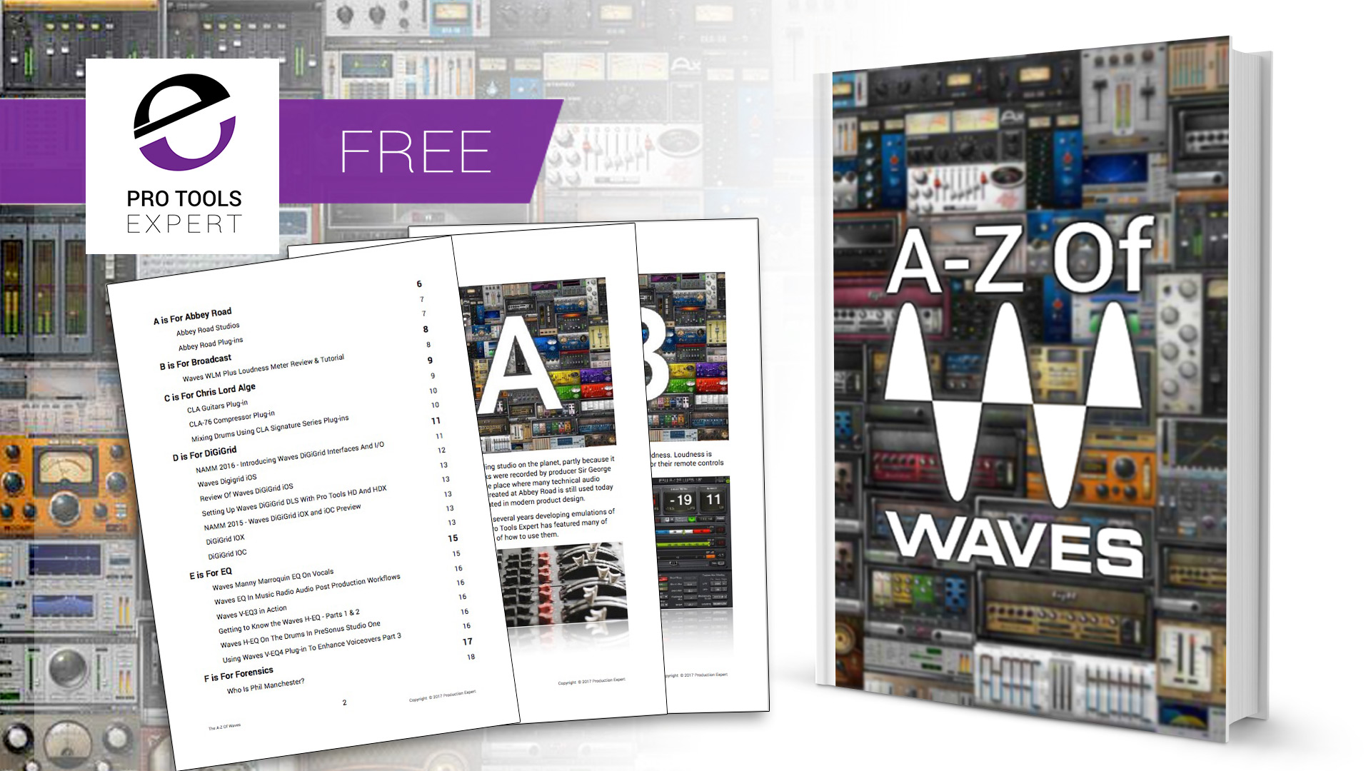 The A-Z Of Waves - Interactive eBook Download Now For Free