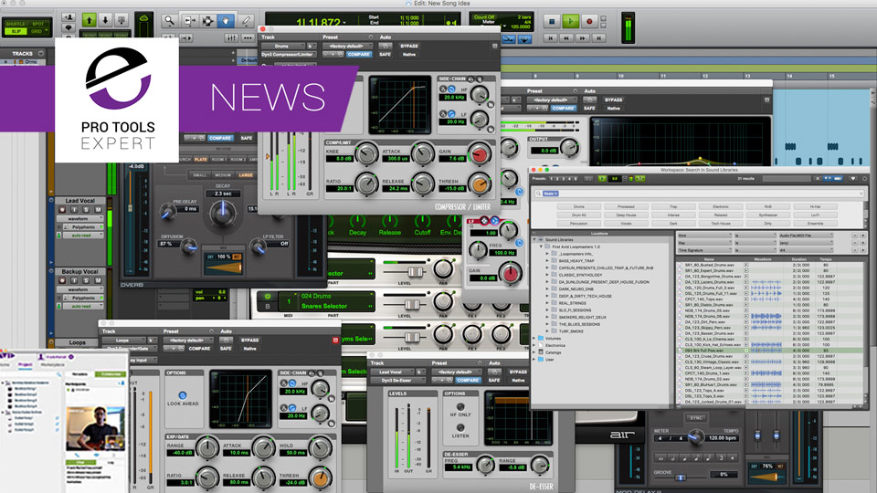 Avid Set Free Pro Tools First Users To Play With The Big Boys With New Version Of Pro Tools First
