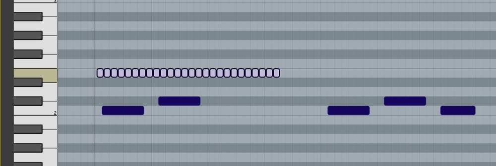 Using the Line Tools for Midi