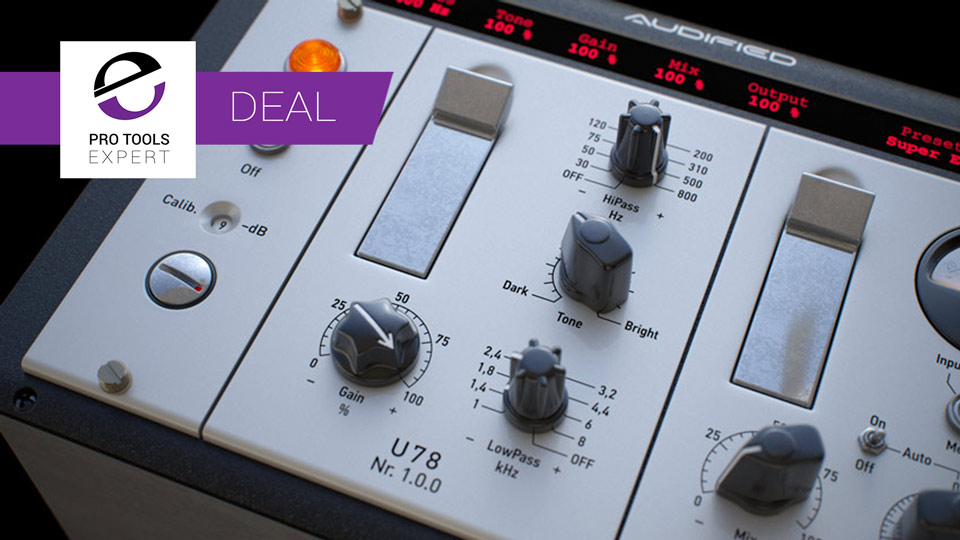 Audified Offering U78 Saturator With 40% Discount Until July 23rd 2017